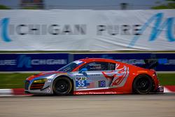 #35 Flying Lizard Motorsports Audi R8 LMS: Seth Neiman & Dion von Moltke