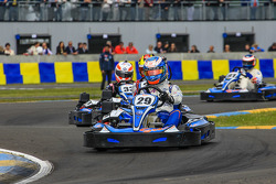 Media/drivers karting race: Paul-Loup Chatin
