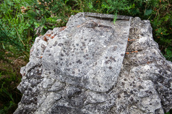 Memorial stone for Sébastien Enjolras who lost his life on 3 May 1997, between Arnage and Porsche curve