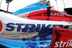 Josef Newgarden, Sarah Fisher Hartman Racing Honda detail