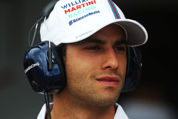 F1: Felipe Nasr, Williams Test and Reserve Driver