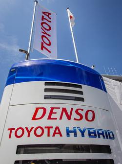 Toyota Racing paddock area