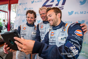 Selfie for Kristian Poulsen, Nicki Thiim and David Heinemeier Hansson