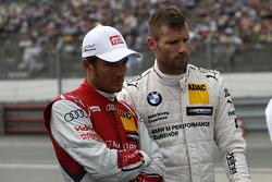 Timo Scheider, Audi Sport Team Phoenix Audi RS 5 DTM and Martin Tomczyk, BMW Team Schnitzer BMW M4 DTM