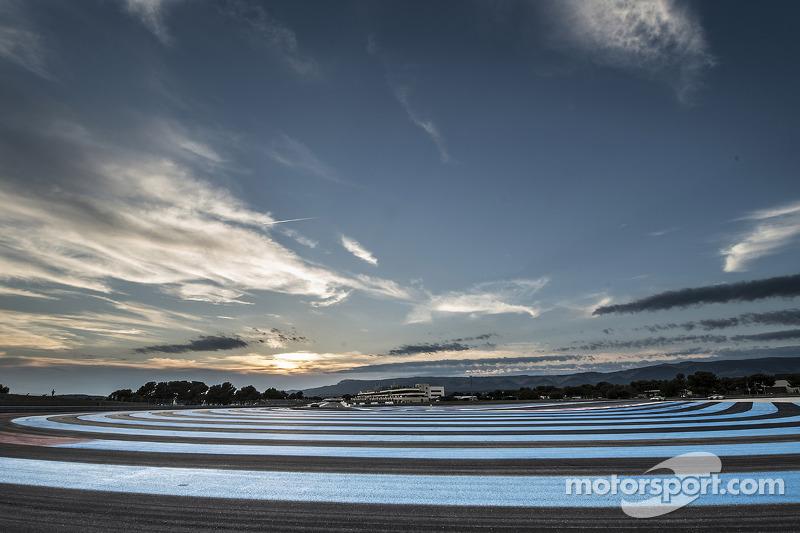 Sunset over Paul Ricard
