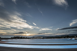 Sunset over Paul Ricard