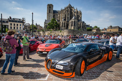 Supercars display: Bugatti Veyron