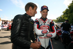 Stuart Graham and Jonathan Rea