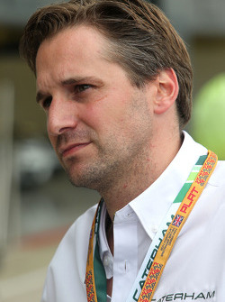 F1: Christijan Albers, Caterham F1 Team, team manager