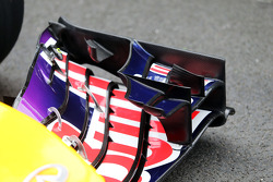 Daniel Ricciardo, Red Bull Racing RB10 front wing detail