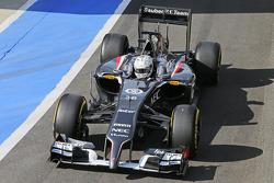 F1: Giedo van der Garde, Sauber C33 Reserve Driver