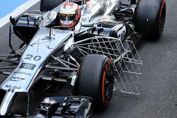 F1: Kevin Magnussen, McLaren MP4-29 running sensor equipment