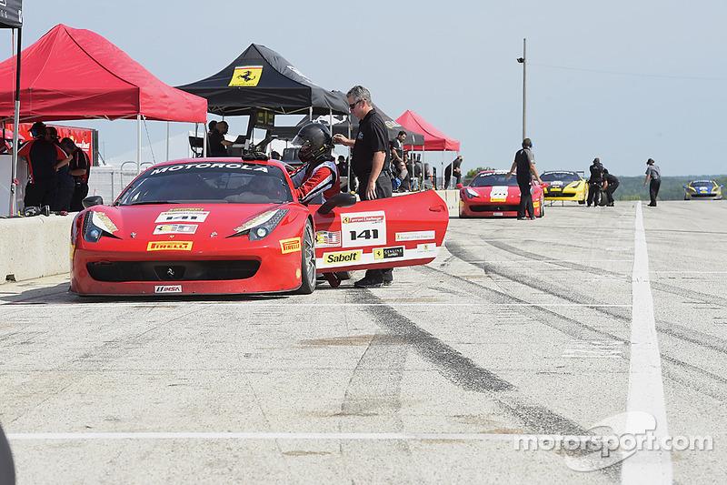 #141 Ferrari of Fort Lauderdale Ferrari 458: John Baker
