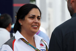 F1: Monisha Kaltenborn, Sauber Team Principal