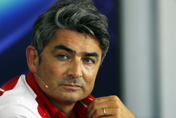 Marco Mattiacci, Ferrari Team Principal in the FIA Press Conference
