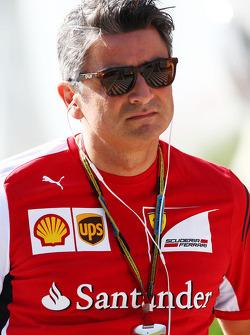 F1: Marco Mattiacci, Ferrari Team Principal