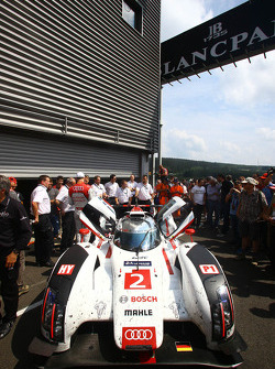 Le Mans winning Audi R18 e-tron quattro