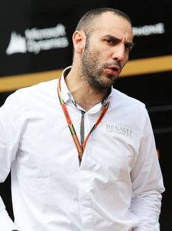 F1: Cyril Abiteboul, Renault Sport F1 Managing Director.
