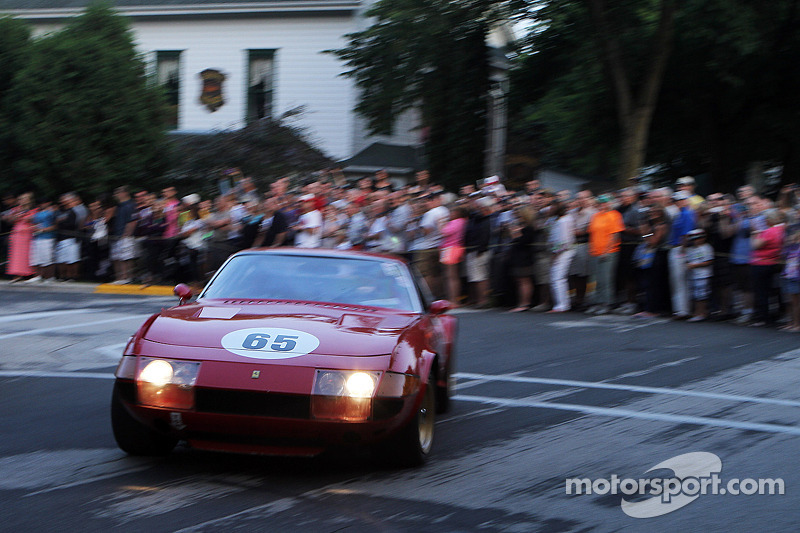 #65 1969 Ferrari GTB/4 Daytona: David Hinton heads back to the track after the Concours