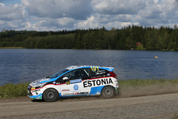 Sander Parn and James Morgan, Ford Fiesta R2