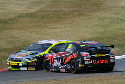 Jack Goff, RCIB Insurance Racing makes contact withh Marc Hynes, Quantel Bifold Racing