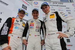 Second place Dominik Baumann, Thomas Jäger, Max Sandritter