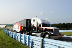 Hauler of A.J. Allmendinger, JTG Daugherty Racing Chevrolet