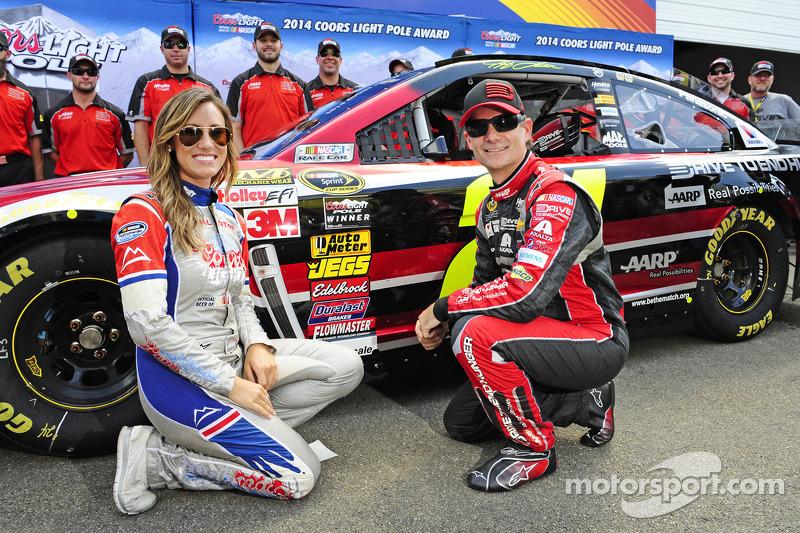 Polesitter Jeff Gordon, Hendrick Motorsports Chevrolet