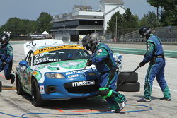 #26 Freedom Autosport Mazda MX-5: Andrew Carbonell, Randy Pobst