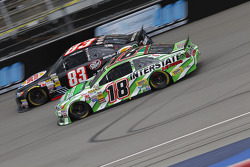 NASCAR-CUP: Ryan Truex, BK Racing Toyota and Kyle Busch, Joe Gibbs Racing Toyota