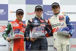 Antonio Fuoco, Max Verstappen, Jake Dennis