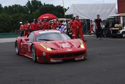 Winners - #62 Risi Competizione Ferrari F458: Giancarlo Fisichella, Pierre Kaffer