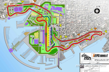 Proposed Mediterranean GP circuit map