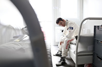Porsche factory drivers photoshoot
