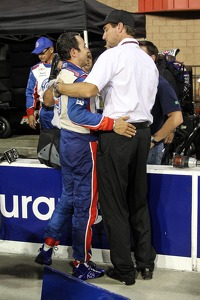Helio Castroneves and Tim Cindric