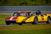 1964 Crusader Vee and 1965 Lotus 26R