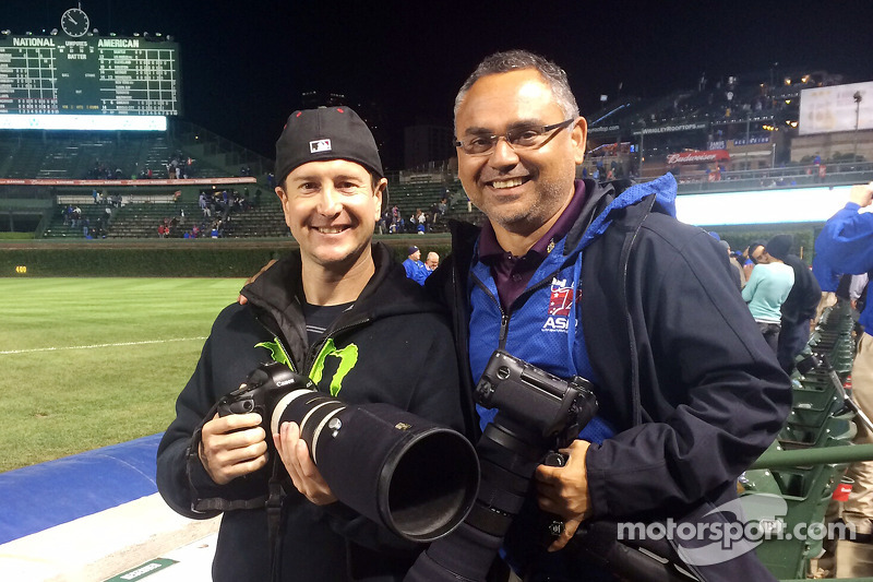 Kurt Busch and Action Sports Photography's Walter Arce