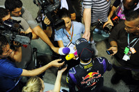 Daniel Ricciardo, Red Bull Racing with the media