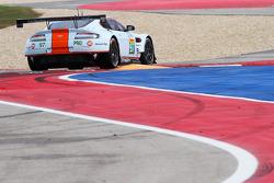 #97 Aston Martin Vantage V8: Darren Turner, Stefan Mücke