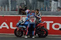 Race winner #1 Suzuki: Vincent Philippe, Anthony Delhalle, Erwan Nigon