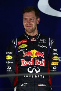 2nd place Sebastian Vettel, Red Bull Racing RB10