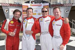 Sunday race winners