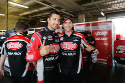 Polesitters Fabian Coulthard and Luke Youlden