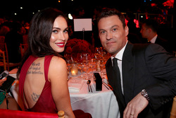 Actress Megan Fox and actor Brian Austin Green