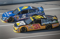 Kasey Kahne and Ryan Newman