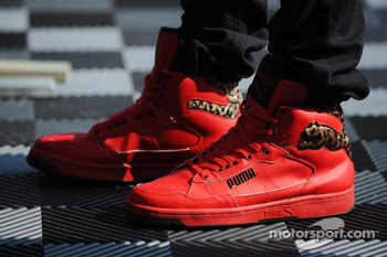 Lewis Hamilton's shoes