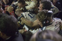 Post race brawl between the crews of Jeff Gordon and Brad Keselowski