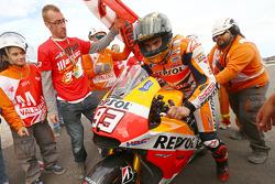 Race winner Marc Marquez, Respol Honda Team