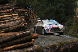 Stephane Lefebvre and Stéphane Prévot, Citroën DS3 WRC