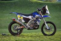 The Yamaha WR450F Rally